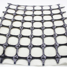 composites geogrid with nonwoven geotextile