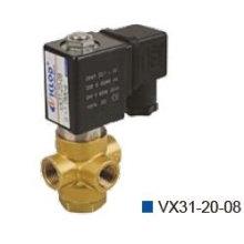 Válvula de control de 3 vías (puertos)