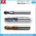 ISO Tungsten Carbide End Mills for Cutting (45HRC, 55HRC, 65HRC)