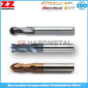 ISO-Hartmetall-Endfräser zum Schneiden (45HRC, 55HRC, 65HRC)
