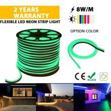Luz de corda LED neon de alta qualidade verde
