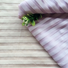 Factory price per kg weft knitted nylon lycra strip fabric