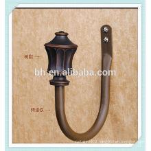 Decorative Ancient Iron Curtain Rod Holder