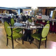 Juegos de mesa y sillas de madera D1017