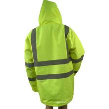 Защитный светоотражающий пуховик и верхняя одежда
