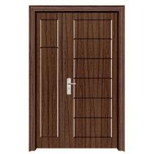 one and a half PVC door