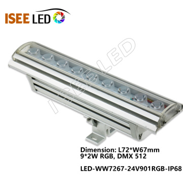 Proyecto personalizado 12-144W RGB LED Wall Washer Light