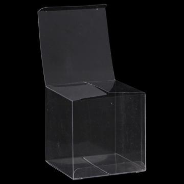 Paquete de plástico personalizado Cajas de regalo transparentes de PVC