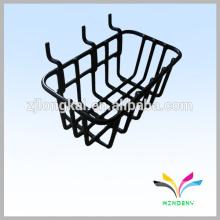 Cesta cuadrada de compras de alambre de compras de supermercado