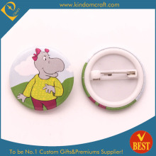 Hippo Intech Product Tin Button Значок для сувенира