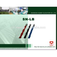 Лифт завернутый в пластик 2014 горячей продажи компенсации цепи SN-ЛБ, роликовые цепи