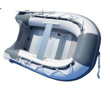 Kleine aufblasbare PVC Fischerboot Boot rudern