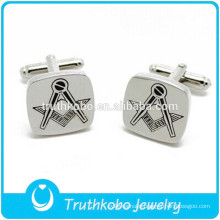F-C0023 Women,Men, Unisex Stainless Steel Personalised Wedding Cufflink Custom Logo Engraved Cufflinks