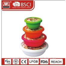 Plastic Round Food Container
