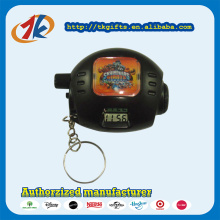 Hot Sale Plastic Projector Watch Keychain Toys