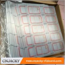 High Efficiency RFID UHF Inlay RFID Card / 13.56Mhz RFID Tag
