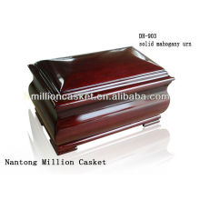 antique solid mahogany wooden cremation buy urn