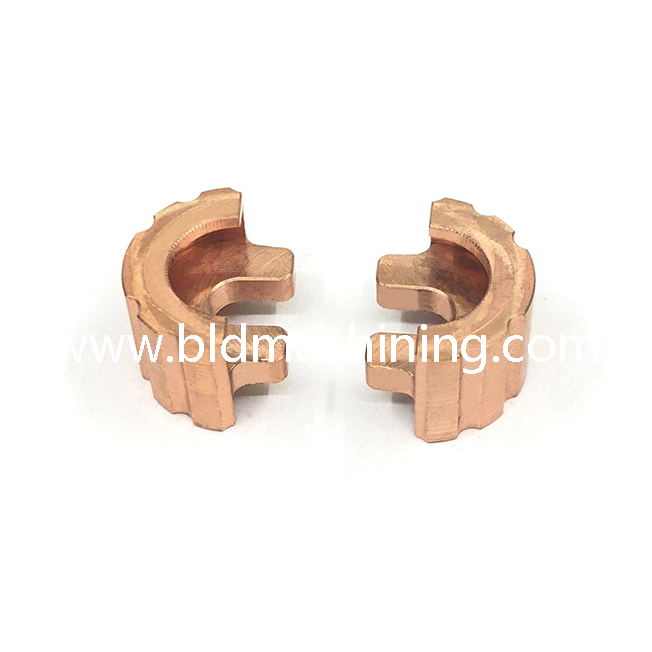 Milling Machining Copper