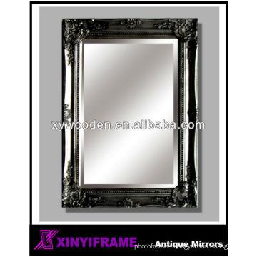 beautiful bathroom wall wood mirror antique patterns sticker