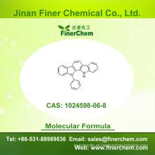 Cas 1024598-06-8 | 11,12 - Dihidro - 11 - fenilindolo [2,3 - a] carbazol | OLED intermedio | 1024598-06-8 | precio de fábrica; Gran stock