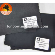 wholesale Super100 twill worsted wool men's suit fabric