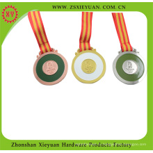Золото / Серебро / Медный металл медаль за спорт (XY-Hz1046)