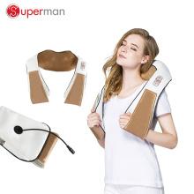 горячий продавать новый дизайн всего тела Разминающий массажный пояс Шиацу шеи плеч массажер с тепла
