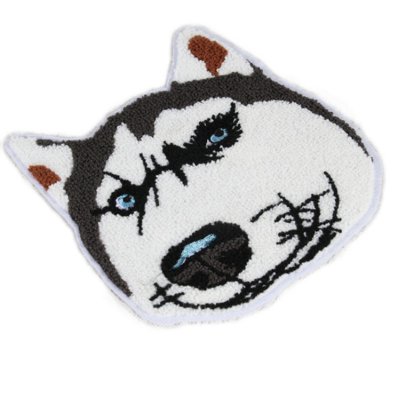 Dogs Towel Embroidery Rope