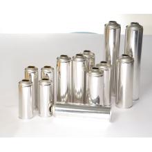 Línea de producción propia de alta tecnología de China Hi-Tech Latas de pegamento de aerosol Botella de hojalata