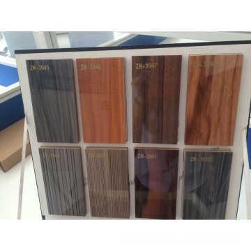 Panneau MDF à haute teneur en bois Woodgrain UV (ZHUV)