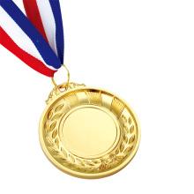 Benutzerdefinierte glänzende Finish Olympic Gold Silber Bronze Medaillen zum Verkauf