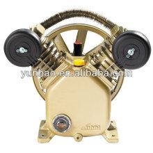 Pompe à air à piston 2hp 8bar V2051 Tête de compresseur entraînée par courroie en fonte