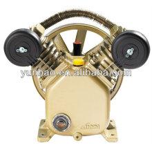 2hp 8bar piston air pump V2051 iron cast belt driven air compressor head