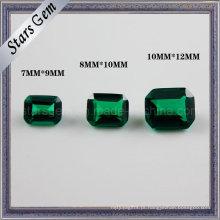 Emerald Cutting Octagon Esmeralda Cutting Cubic Zirconia