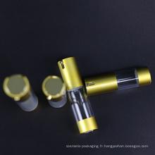 Bouteille sans air de lotion de jet en plastique d'emballage cosmétique (NAB24)