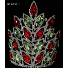 Venta al por mayor Tiara Rhinestone Pageant Crown