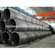 Q235 Сварные трубы или трубки из углеродистой стали с большим диаметром, SSAW