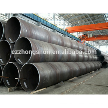 Q235 Large Diameter SSAW Spiral Welded Carbon Steel Pipe or Tubes