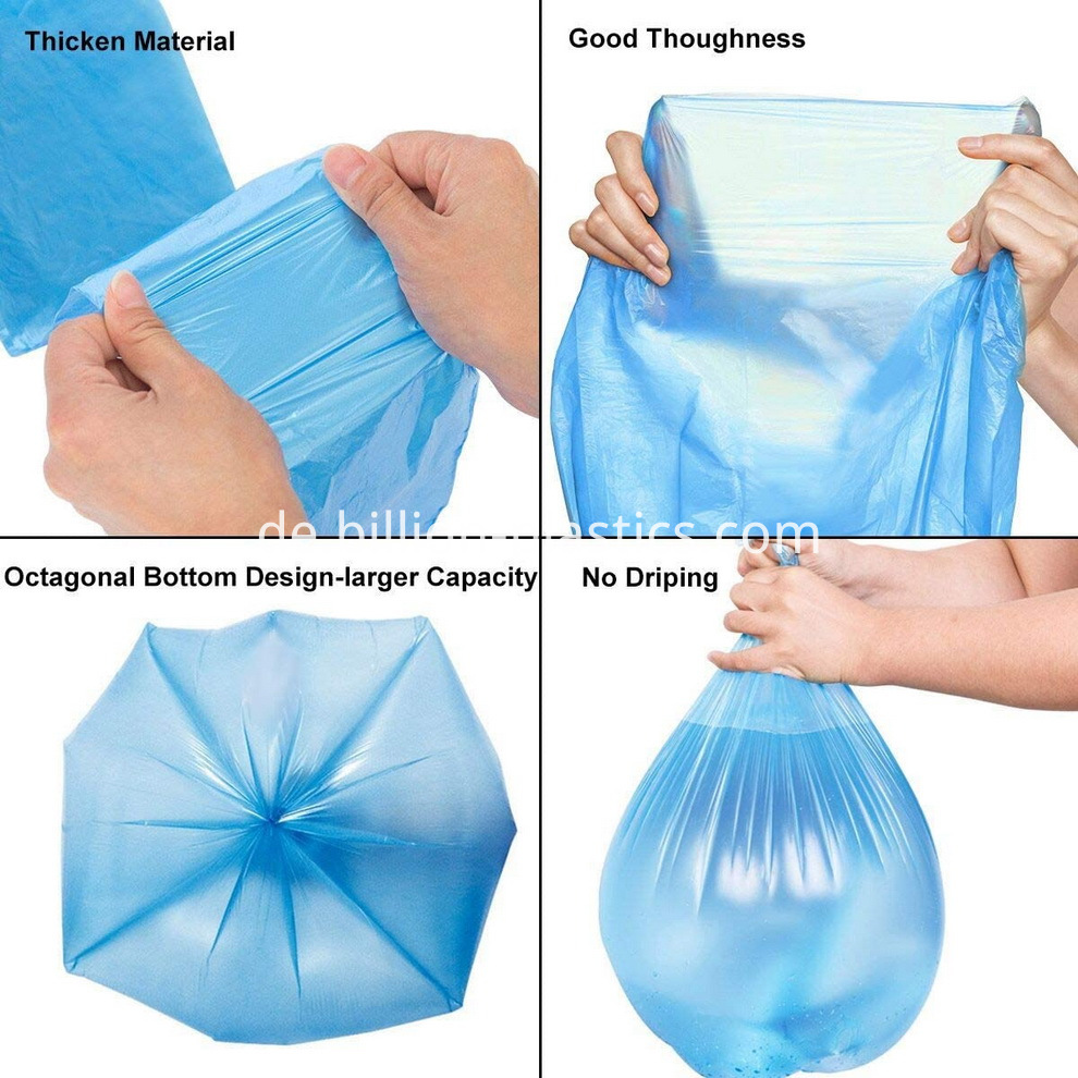 disposable garbage bags (15)