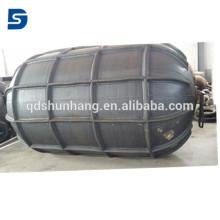 Defensa neumática de la costilla de goma marina para atracar la protección de la nave