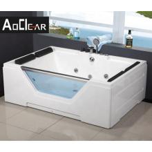 Aokeliya bathroom air bubble bathtub with fauce thydromassage bath