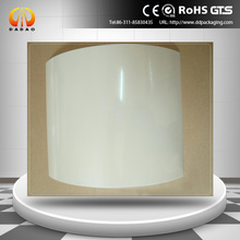 milk white polyester film 125 micron