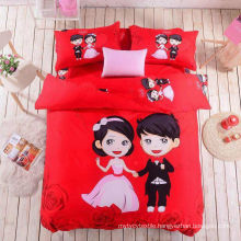 100%cotton printed fabric for lovers