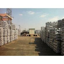 Высокая чистота 99,7% 99,99% Алюминиевый слиток