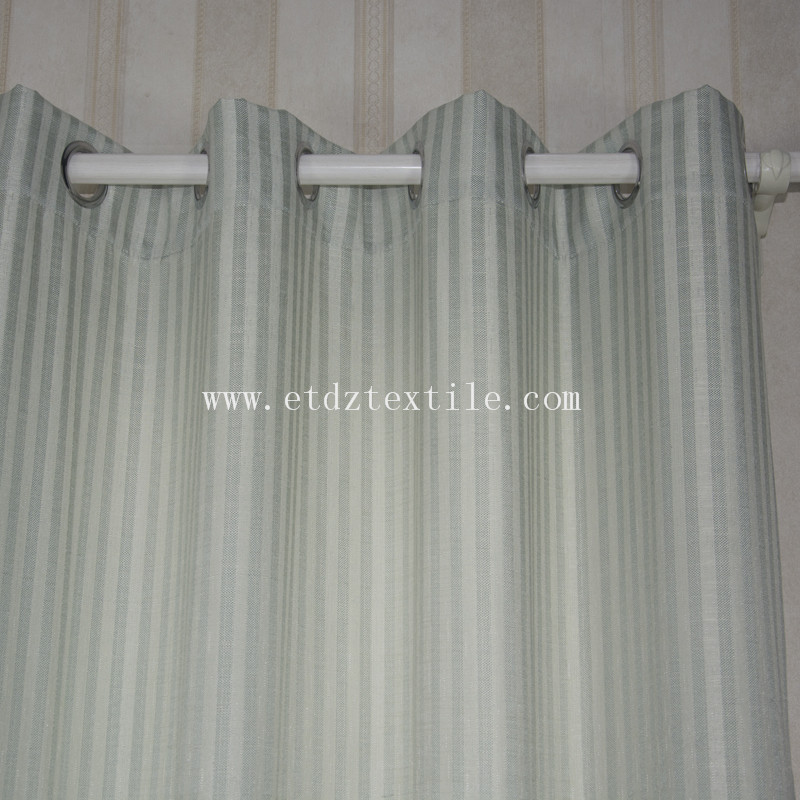 6010-52 2015 Top Sell Linen Touching 100% Polyester Curtain Fabric