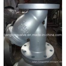 Carbon Steel Flange End Y-Strainer with RF Carbon Steel