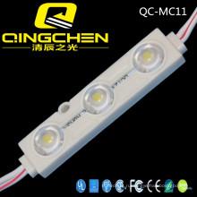 Высокая яркость Водонепроницаемый 3 чипа 5050 Инъекции светодиодный модуль с углом обзора объектива 160 градусов Светодиодный модуль