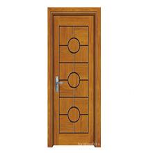 Деревянная дверь высокого качества сбывания с конструкцией способа (SW-803)