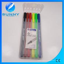 Стрежни капиллярной ручки или маркер, акварель ручка в пп упаковку