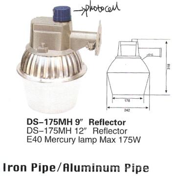 """Street Light (DS-175MH-9""""-Reflector)"""